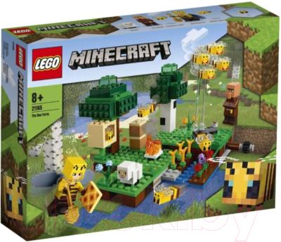 Конструктор Lego Minecraft Пасека / 21165