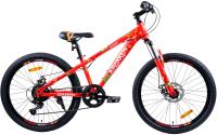 Велосипед Krakken Bones 2021 (24, красный) -