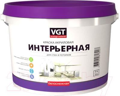 Краска VGT ВД-АК-2180 Интерьерная влагостойкая
