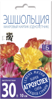 Семена цветов Агро успех Эшшольция Махровый карлик (0.2г) -
