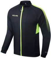 Олимпийка спортивная Kelme Men Training woven Jacket / K088-012 (L, черный) -
