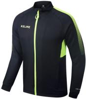 Олимпийка спортивная Kelme Men Training woven Jacket / K088-012 (M, черный) -