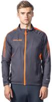 Олимпийка спортивная Kelme Men Training woven Jacket / K088-251 (L, темно-серый) -
