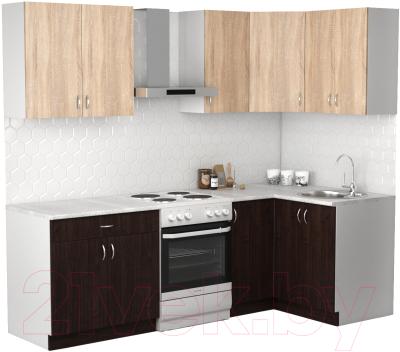 Готовая кухня S-Company Клео лайт 1.2x1.8 правая
