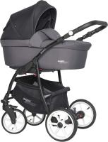Детская универсальная коляска Riko Basic Sport 3 в 1 (01/Carbon) -