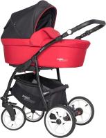 Детская универсальная коляска Riko Basic Sport 3 в 1 (06/Sport Red) -