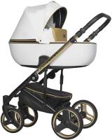 Детская универсальная коляска Riko Ozon Premium 3 в 1 (33/Gold White) -