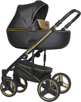 Детская универсальная коляска Riko Ozon Premium 3 в 1 (34/Gold Black) -