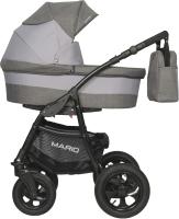 Детская универсальная коляска Riko Mario 3 в 1 (10/серый) -