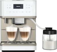 Кофемашина Miele CM 6360 LOCM (белый металлик) -