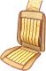 Накидка на автомобильное сиденье AVG 204012 (бежевый) -