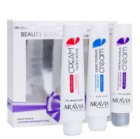 Набор косметики для лица и тела Aravia Professional Суперувлажняющий уход -
