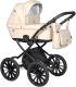 Детская универсальная коляска INDIGO Broco Eco Plus 14 2 в 1 (Be 02, бежевая кожа) -