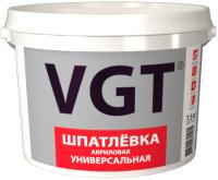 Шпатлевка VGT Универсальная для наружных и внутренних работ (3.6кг) -
