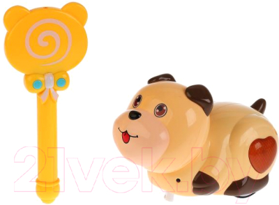 Фото - Интерактивная игрушка Симбат Щенок / B1390596 интерактивная мягкая игрушка mioshi active весёлый щенок mac0601 006 белый