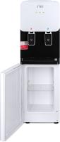 Раздатчик воды Ecotronic J1-LCWD XS (шкафчик 7л, черный/белый) -