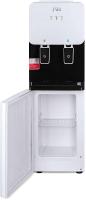 Кулер для воды Ecotronic J1-LCN XS (шкафчик 7л, черный/белый) -
