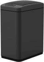 Сенсорное мусорное ведро WeltWasser Navy BL 8L (черный матовый) -