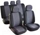 Чехол для сиденья AVG Модель 3 / 204102 (11 предметов, черный/серый) -