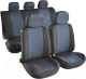 Чехол для сиденья AVG Модель 3 / 204103 (11 предметов, черный/синий) -