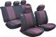 Чехол для сиденья AVG Модель 3 / 204104 (11 предметов, черный/красный) -