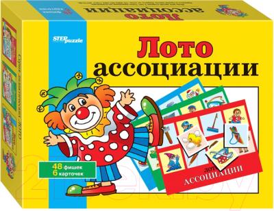 Лото Step Puzzle Ассоциации / 80302
