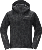Куртка рыбацкая Shimano RB-01JS Gore-Tex / 59YRB01JS69 (EU-XL/ JP-3L, черный камуфляж) -