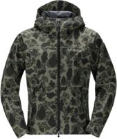Куртка рыбацкая Shimano RB-04JS Dryshield / 59YRB04JS78 (EU-L/JP-LL, зеленый камуфляж) -
