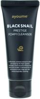 Пенка для умывания Ayoume Black Snail Prestige Foam Cleanser с муцином черной улитки (60мл) -