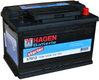 Автомобильный аккумулятор Hagen R+ / 57016 (70 А/ч) -