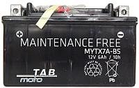 Мотоаккумулятор TAB YTZ7-BS / 316515 (5.5 А/ч) -