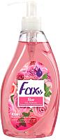 Мыло жидкое Fax Роза (400мл) -