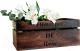 Ящик для хранения Grifeldecor Flowerpot De Rose / BZ171-2С110 (коричневый) -