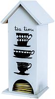 Чайный домик Grifeldecor Tea Time / BZ171-10W4 (чашки) -