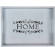 Поднос Grifeldecor Home / BZ172-8G16 (серый) -