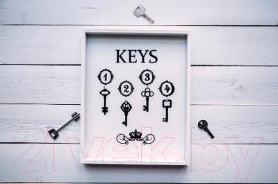 Ключница настенная Grifeldecor Keys / BZ172-4W41
