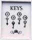 Ключница настенная Grifeldecor Keys / BZ172-4W41 -