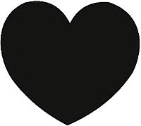 Магнит грифельный Grifeldecor Сердце / BZ177-6B87 -