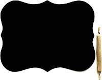 Магнит грифельный Grifeldecor Шильда / BZ177-6B118 -