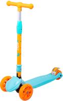 Самокат Ridex Bunny (голубой/оранжевый) -