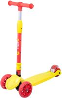 Самокат Ridex Bunny (желтый/красный) -