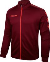 Олимпийка спортивная Kelme Training Jacket / 3881324-609 (XL, красный) -