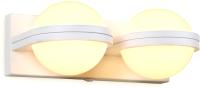 Бра Ambrella FW556/2 SWH (белый/песок) -