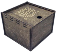 Коробка подарочная Woodstrong 2902 (20х20х10см) -