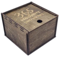 Коробка подарочная Woodstrong 2908 (35x35x12см) -
