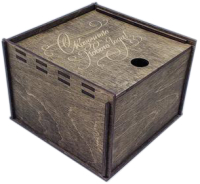 Коробка подарочная Woodstrong 2916 (35x35x12см) -