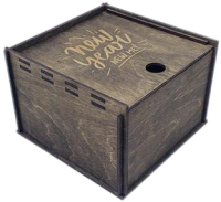 Коробка подарочная Woodstrong 2903 (10x10x5см) -