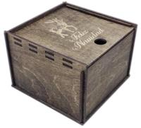Коробка подарочная Woodstrong 2912 (10x10x5см) -