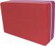 Блок для йоги Espado ES2722 (розовый/красный) -