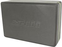 Блок для йоги Espado ES2721 (серый) -